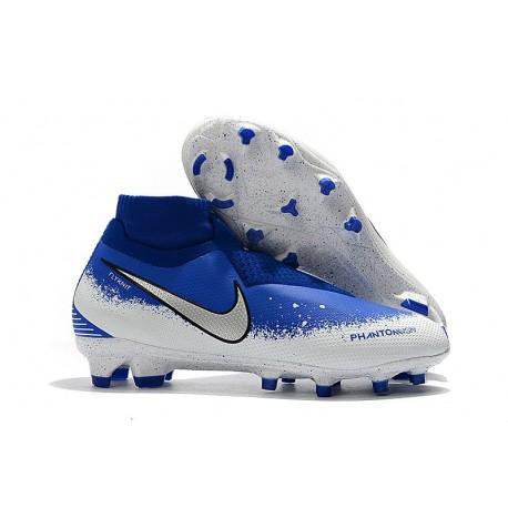 Nike Phantom Vision Elite DF FG Tacos de Futbol - Euphoria Pack Azul
