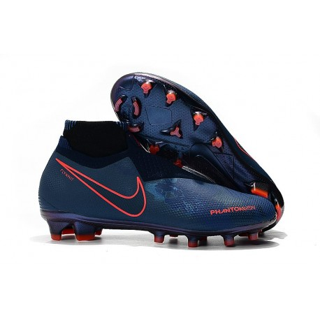 Nike Zapatos Phantom Vision Elite Dynamic Fit FG - Fully Charged Cian