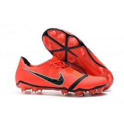 Zapatillas de Fútbol Nike Phantom VNM Elite FG Crimson Negro