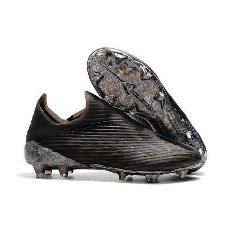 Bota de Fútbol adidas X 19+ FG - Dark Script Negro