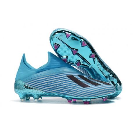 Bota de Fútbol adidas X 19+ FG - Azul Negro