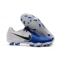 Zapatillas de Fútbol Nike Phantom VNM Elite FG Azul Blanco