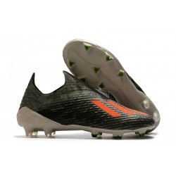 Bota de Fútbol adidas X 19+ FG - Verde Naranja Chalk