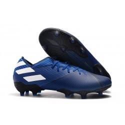 Zapatos de Fútbol adidas Nemeziz 19.1 FG - Cian Blanco