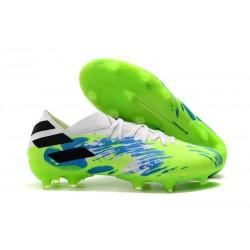 Zapatos de Fútbol adidas Nemeziz 19.1 FG - Blanco Verde