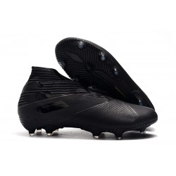 adidas Botas de fútbol Nemeziz 19+ FG Negro