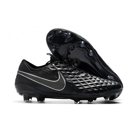 Nike Tiempo Legend 8 Elite FG Botas de Fútbol Negro