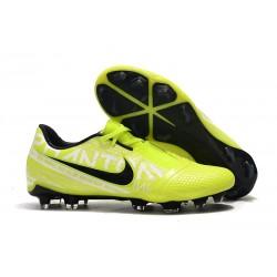 Zapatillas de Fútbol Nike Phantom VNM Elite FG Amarillo Fluorescente