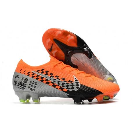 Nike Mercurial Vapor 13 Elite FG Zapatilla -Naranja Negro Cromo