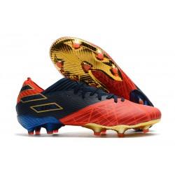 Zapatos de Fútbol adidas Nemeziz 19.1 FG -X Marvel Rojo Azul Negro