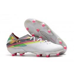 Zapatos de Fútbol adidas Nemeziz 19.1 FG - Blanco Rosa
