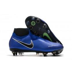 Nike Phantom VSN Elite DF SG-Pro Anti Clog Azul Cromo Blanco