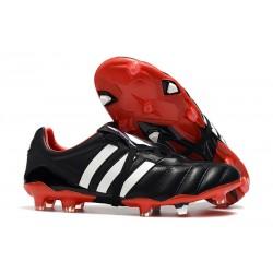adidas Zapatillas de fútbol Predator Mania FG Negro Rojo Blanco