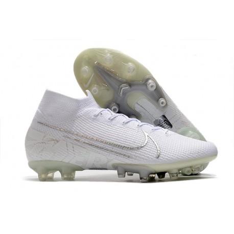 Nike Mercurial Superfly 7 Elite AG-PRO Blanco