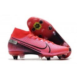 Zapatillas Nike Mercurial Superfly 7 Elite SG-PRO Láser Crimson Negro