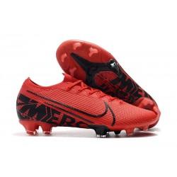 Botas de Fútbol Nike Mercurial Vapor XIII Elite FG Rojo Negro