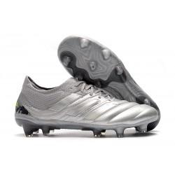 Zapatillas de Fútbol adidas Copa 19.1 FG -Silver Amarillo