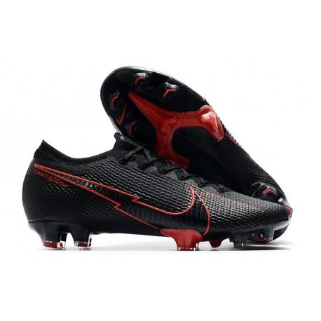 Nuevo Nike Mercurial Vapor XIII 360 Elite FG Negro Rojo