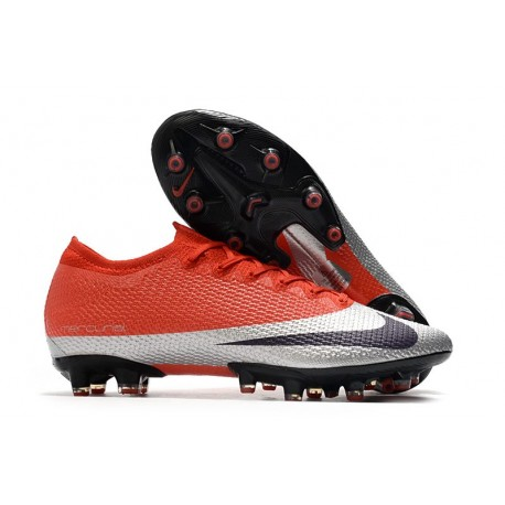 Nike Mercurial Vapor 13 Elite AG-PRO Rojo Metal Negro