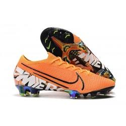 Botas de Fútbol Nike Mercurial Vapor XIII Elite FG Naranja Blanco