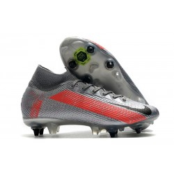 Nike Mercurial Superfly VII Elite SG-PRO AC Neighbourhood - Gris Plata