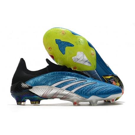 Zapatillas de Fútbol adidas Predator Archive FG - Azul Blanco Rojo