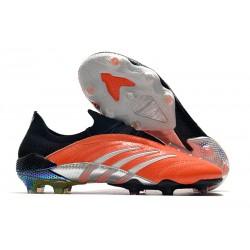 Zapatillas de Fútbol adidas Predator Archive FG - Naranja Negro Blanco