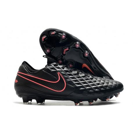 Zapatillas Nike Tiempo Legend VIII Elite FG - Negro Rosa