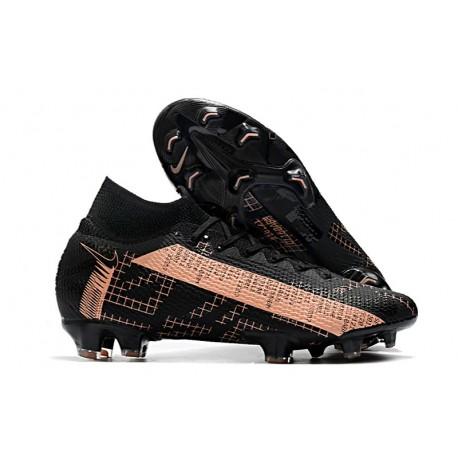 Nike Mercurial Superfly VII Elite FG Negro Rosa
