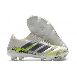 Botas de fútbol adidas Copa 20.1 FG Blanco Negro Verde