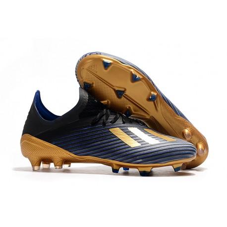 Botas de Fútbol adidas X 19.1 FG - Negro Oro