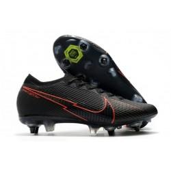 Nike Mercurial Vapor 13 Elite SG-Pro AC Negro Rojo
