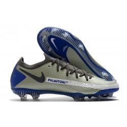 Bota de Futbol Nike Phantom GT Elite FG - Gris Azul Negro