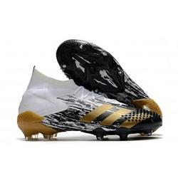 Botas adidas Predator Mutator 20.1 FG Blanco Dorado metalizado Negro