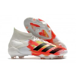 Botas de Fútbol adidas Predator Mutator 20.1 FG Blanco Negro Pop