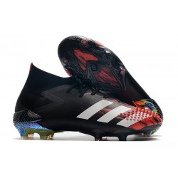 Botas de Fútbol adidas Predator Mutator 20.1 FG Negro Blanco Active Red