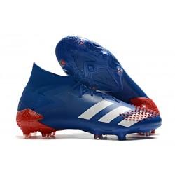 Botas de Fútbol adidas Predator Mutator 20.1 FG Azul Blanco Rojo