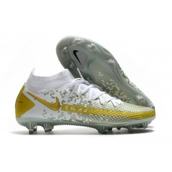 Zapatillas Nike Phantom GT Elite Dynamic Fit FG Blanco Oro