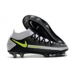 Zapatillas Nike Phantom GT Elite Dynamic Fit FG Negro Gris Verde