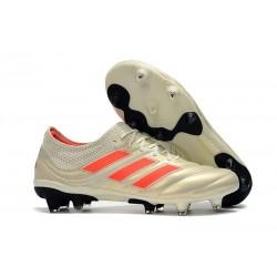 Zapatillas de Fútbol adidas Copa 19.1 FG - Blanco Rojo