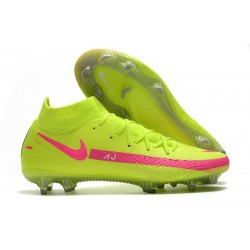 Zapatillas Nike Phantom GT Elite Dynamic Fit FG Verde Rosa