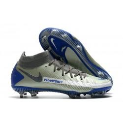 Nike Botas Nuevo Phantom GT Elite DF FG - Gris Azul