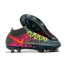 Zapatillas Nike Phantom GT Elite Dynamic Fit FG Armada Gris Rosa