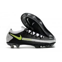 Bota de Futbol Nike Phantom GT Elite FG - Negro Gris Amarillo