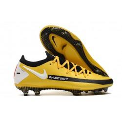 Nike Phantom GT Elite FG Botas de fútbol para terreno Amarillo Negro