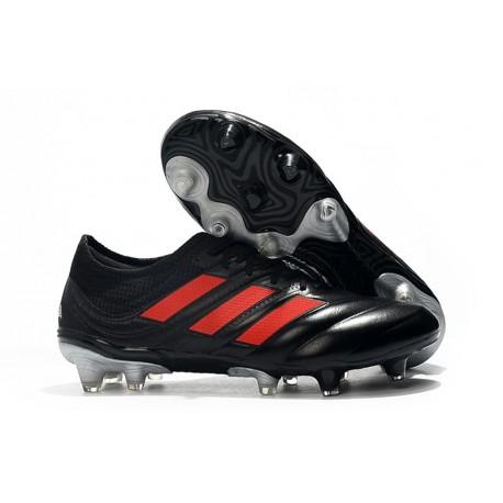 Zapatillas de Fútbol adidas Copa 19.1 FG - Negro Rojo