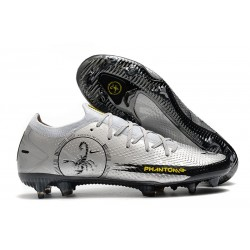 Nike Phantom Scorpion Elite FG Plata Negro