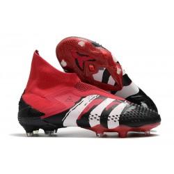 Zapatillas adidas Predator Mutator 20+ FG Rojo Negro Blanco