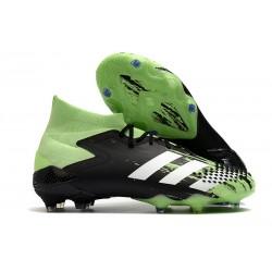 Botas de Fútbol adidas Predator Mutator 20.1 FG Verde señal Blanco Negro