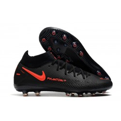 Nike Phantom GT Elite Dynamic Fit AG-PRO Negro Rojo Chile Gris humo oscuro